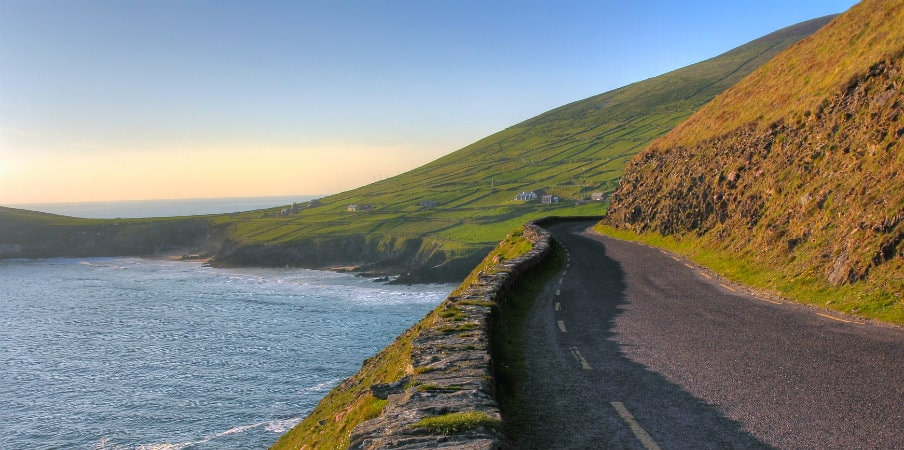 view of coastal road dingle peninsula