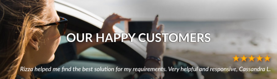 UK customer reviews banner