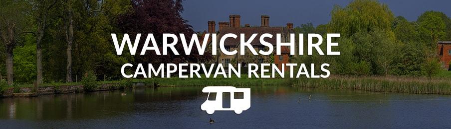 warwickshire campervan rentals in the UK banner