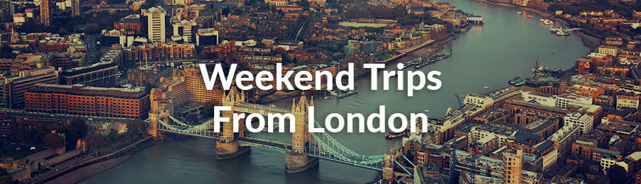 Weekend trips from London banner