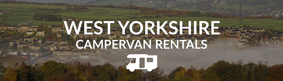 West Yorkshire campervan rentals in the UK banner
